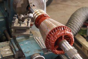 Georges-Industrie_Tournage-maintenance-collecteurs-et-bagues